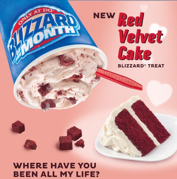 Red Velvet Blizzard