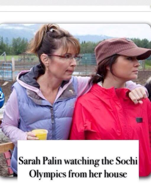 Sarah Palin Olympics