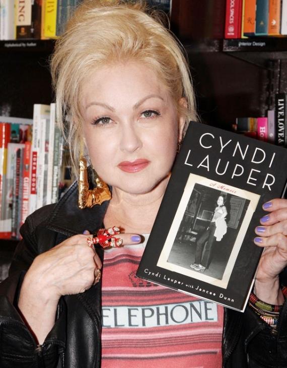 Cyndi Lauper A Memoir