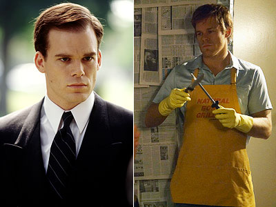 Michael C Hall as David Fisher and Dexter