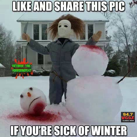 Michael Myers Winter