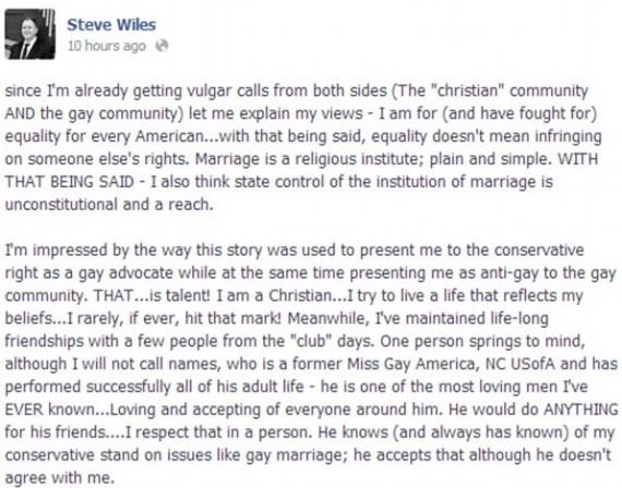 Facebook Steve Wiles