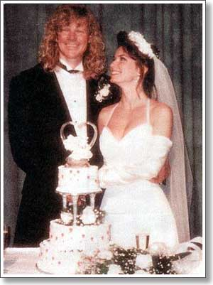 Mutt Lange And Marie Anne Thiebaud Wedding.Marie Anne Thiebaud What S Peeps Thinking About Now It S Probably