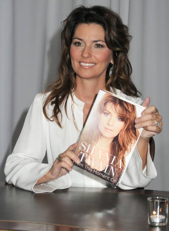 Shania Twain and Book