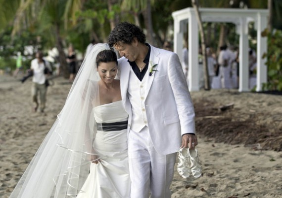 Shania Twain Frederic Thiebaud Wedding