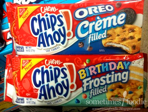 Chips Ahoy Filled Cookies