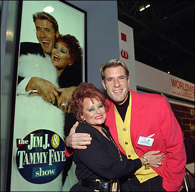 Jim  and Tammy Faye