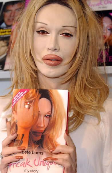 Pete burns leaves big brother fans in hysterics with graphic camel toe revelation
