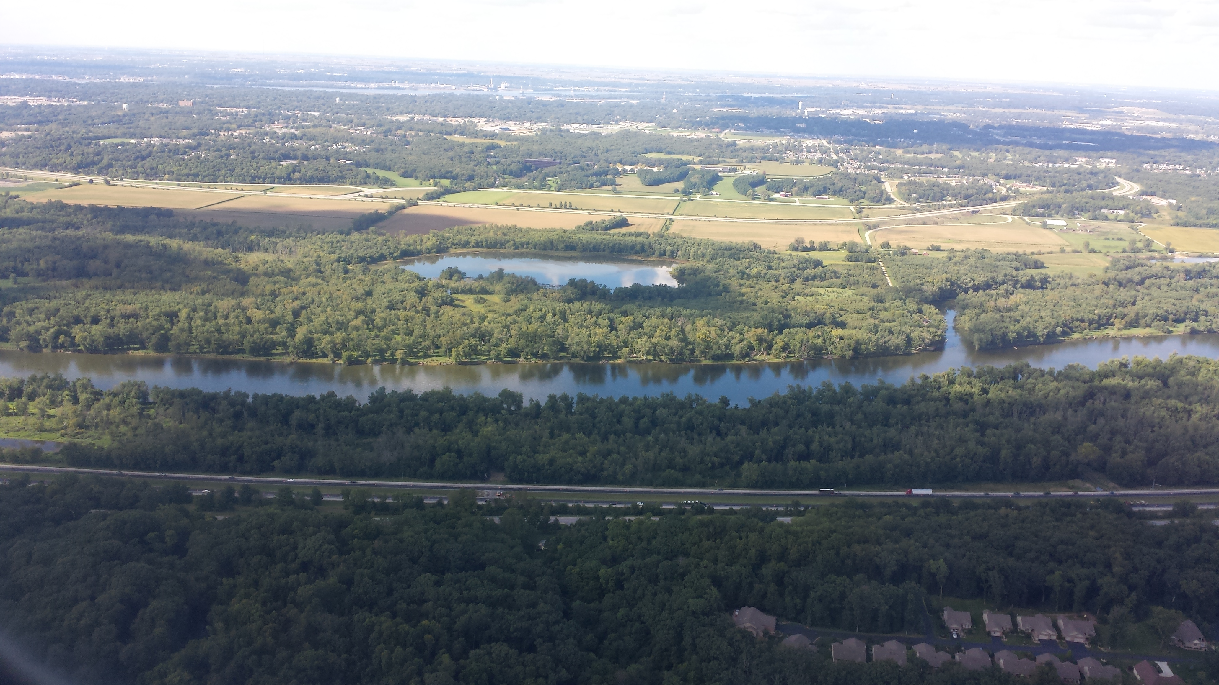 Moline from the air