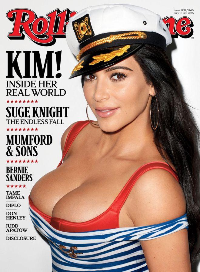 Kim KW Rolling Stone