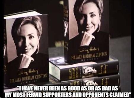 Hillary Living History Meme