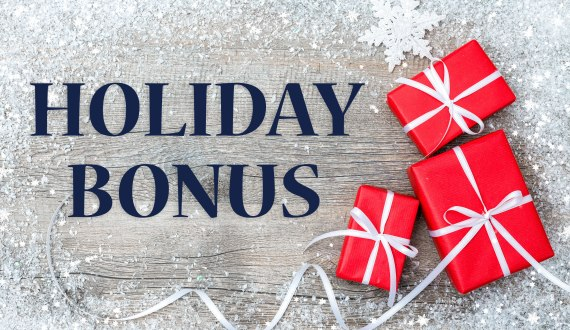 Holiday Bonus