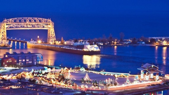 Duluth at Christmas