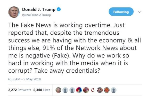 45 Press Trump