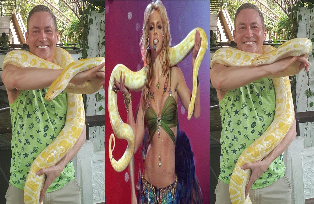 AP Britney Snake