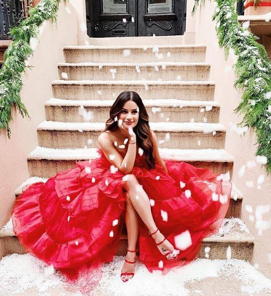 Lea Michele Christmas.JPG