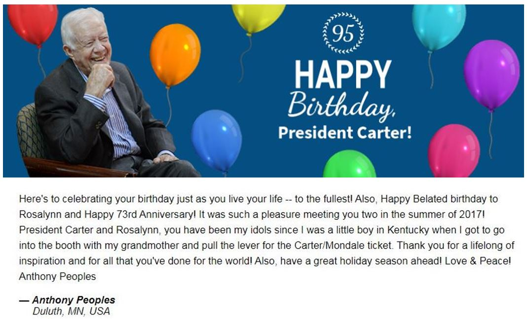 Happy 95 President Carter Final
