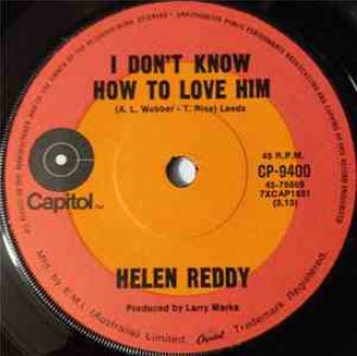 Helen Reddy I Dont Know How To Love Him.JPG