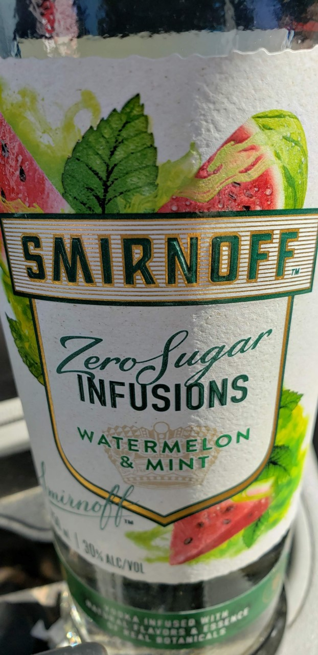 Watermelon Mint Vodka